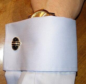 Cufflink - Double cuff with cufflink