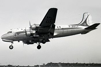 Douglas DC-4, F-BELF, Air France Manteufel-1.jpg