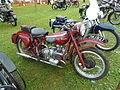 Douglas motorcycle, Abergavenny steam rally 2012.jpg
