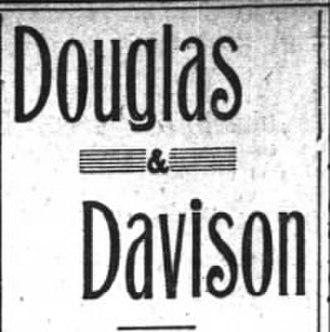 Davison's - Image: Douglasdavison