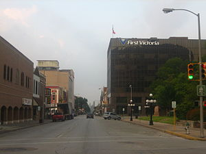 Victoria, Texas - Image: Downtown Victoria, TX IMG 1010