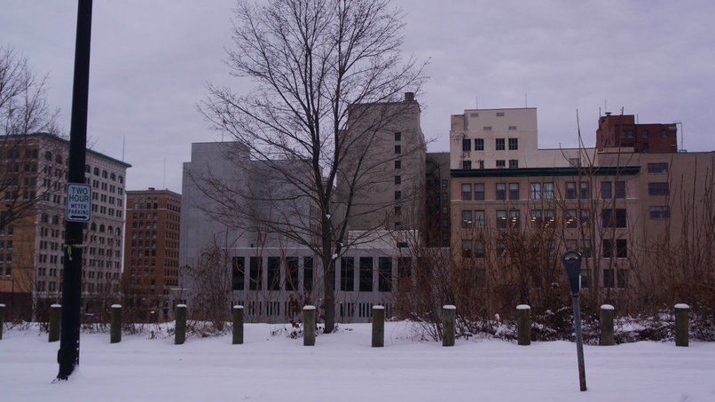 Downtown Youngstown Skyline