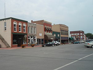 Paola, Kansas - Downtown Paola (2009)