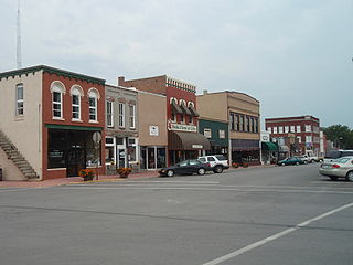 Paola, Kansas City and County seat in Kansas, United States