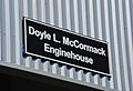 Doyle L. McCormack Enginehouse sign, close-up.jpg