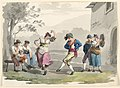 "Drawing, ""Saltarello Romano,"" Dancing Peasants In The Neighborhood of Rome, 1807–08 (CH 18329615).jpg"