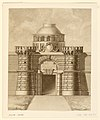 Drawing, Gate with Papal Arms (CH 18549055).jpg
