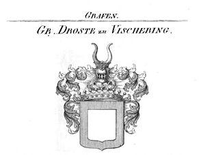 Droste zu Vischering - Coat of arms of the Counts Droste zu Vischering.