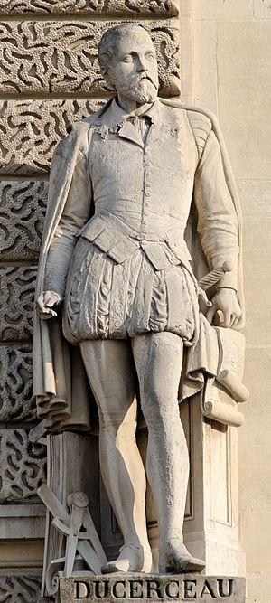 Jacques I Androuet du Cerceau - Jacques I Androuet du Cerceau by Georges Diebolt (Louvre)