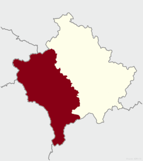 Metohija Geographical and historical region of Kosovo