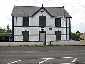 Independent Orange Order - An Independent Orange Order Hall in Dunaghy, County Antrim.