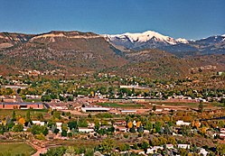 Skyline of Durango, Colorado