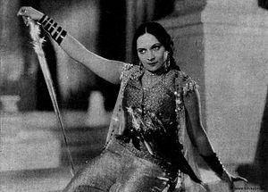 Durga Khote - Khote in Amar Jyoti (1936)