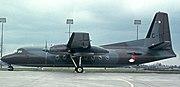 Dutch Air Force F-27-300M