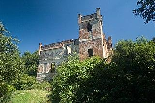 Mietków Village in Lower Silesian, Poland