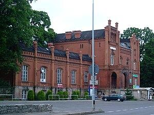 Kamienna Góra - Image: Dworzec PKP Kamienna Góra 966
