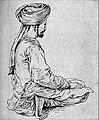 EB1911 India - pagri with paejamas.jpg