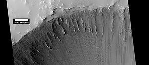 Ulysses Tholus - Image: ESP 045619 1835ulyssescrater