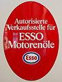 ESSO Motorenöle Emaille Werbeschild.JPG