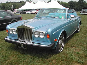 First-generation Rolls-Royce Corniche Photogra...