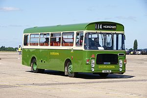 Eastern National bus CR1103 (UVX 7S), 2010 North Weald bus rally.jpg