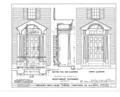 Ebenezer Smith House, 20 Main Street, Durham, Strafford County, NH HABS NH,9-DUR,4- (sheet 14 of 38).png