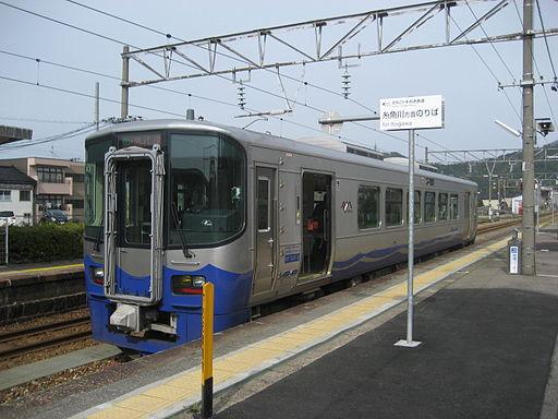 Echigo Tokimeki Railway ET122-3 Tomari