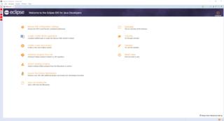 Eclipse (software) Java software development environment