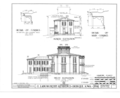 Edward Langworthy House, 1095 West Third Street, Dubuque, Dubuque County, IA HABS IOWA,31-DUBU,2- (sheet 4 of 6).png