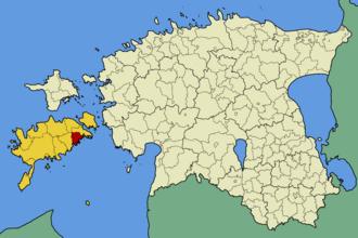 Laimjala Parish - Image: Eesti laimjala vald