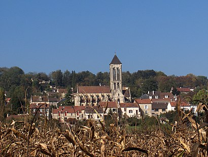How to get to Champagne Sur Oise with public transit - About the place