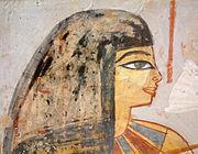 Femme aux yeux fardés (Louvre)
