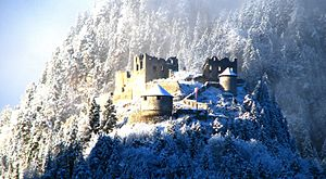 Ehrenberg Castle - Ehrenberg Castle Ruins - December, 2013