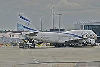 4X-ELC - B744 - El Al