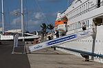 El Crucero MS Belle del Adriático en el muelle de Santa Catalina de Las Palmas de Gran Canaria Islas Canarias (6413439383).jpg