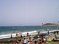 El Médano día de playa.JPG
