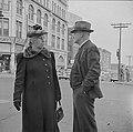 Elderly couple at the corner of High and Dwight, Holyoke, Massachusetts (1941).jpg