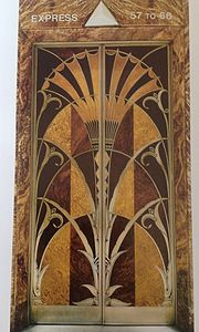 Elevator doors of Chrysler Building (1927-30).jpg