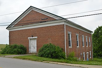 National Register of Historic Places listings in Fleming County, Kentucky - Image: Elizaville Presbyterian Church