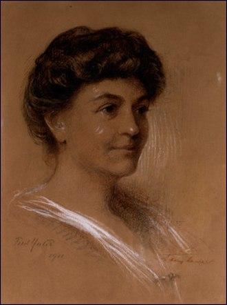 Ellen Axson Wilson - Ellen Axson Wilson by her friend Frederic Yates - 1906