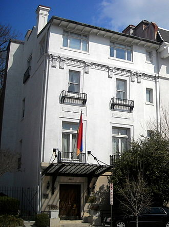 Embassy of Armenia, Washington, D.C. - Image: Embassy of Armenia Washington