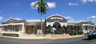 Emerald, Queensland - Emerald railway station