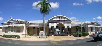 Emerald railway station, Queensland - Emerald railway station, 2010