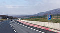 Emergency stopping lane on D8 near Petrovice, Czech Republic-6309.jpg