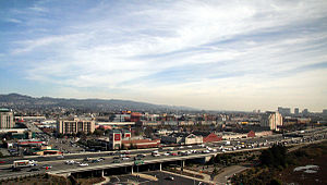 Emeryville, California - Emeryville as seen from a local highrise hotel
