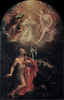 Emilian Painter - Coronation of the Virgin with Saint John the baptist - Google Art Project.jpg