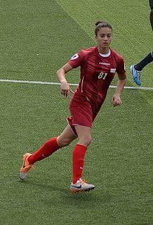 Emine Ecem Esen Turkish womens football midfielder