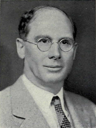 Emory J. Hyde - Hyde from the 1938 Michiganensian