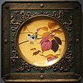 Enamel plaque framed in gilt metal, Fernand Thesmar, 1879, Cleveland Museum of Art.JPG