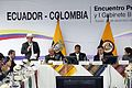 Encuentro Presidencial y I Reunión del Gabinete Binacional Ecuador-Colombia. (8265190844).jpg